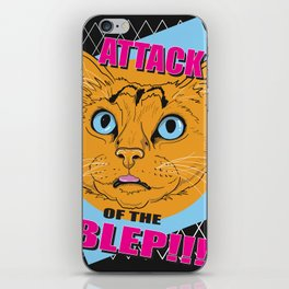 Attack of the Blep iPhone Skin