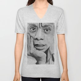 James Baldwin Unisex V-Neck