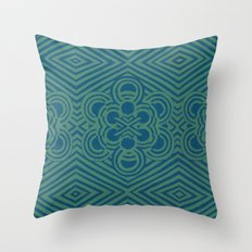 Mint Pop Throw Pillow