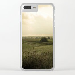 Country Morning Clear iPhone Case