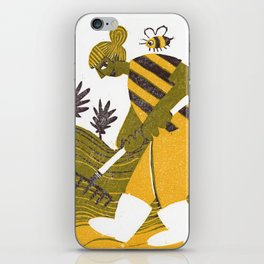 Rake Them Seeds iPhone Skin