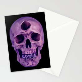 3rd Eye Contact (Purple) Stationery Cards