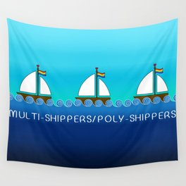 Multi-Shippers/Poly-Shippers Wall Tapestry