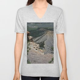 View from top of Mesa Verde Unisex V-Neck