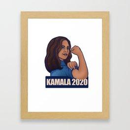 Kamala 2020 Framed Art Print