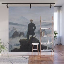 Wanderer Above the Sea of Fog Wall Mural