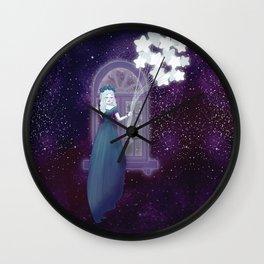 Galaxy Maiden Wall Clock