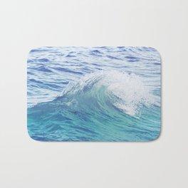 Sea Wave Minimal Poster Bath Mat