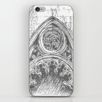 gothic iPhone & iPod Skins featuring gothic by Tereza Del Pilar