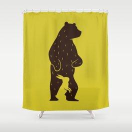 Kuma to Usagi Shower Curtain