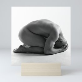 Male Nude Squared Pt.5 Mini Art Print