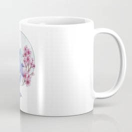 Killer whales with a sprig of cherry Coffee Mug