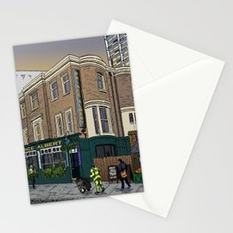 London Sunrise Stationery Cards