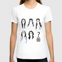 alex vause T-shirts featuring Alex Vause Hairstyles by Zharaoh