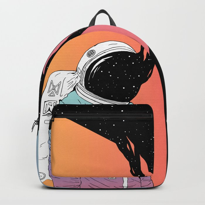A Portrait of Space and Time ( A Study of Existence) Backpack