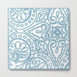 Dulce Wedgwood Blue Metal Print