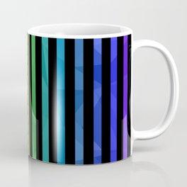 BLACK + RAINBOW Coffee Mug
