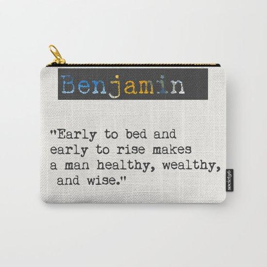 Benjamin Franklin  quote by wildpaperzero
