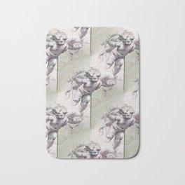 Cherubs & Clockwork Hearts Bath Mat