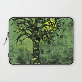 the Vision Tree (green) Laptop Sleeve