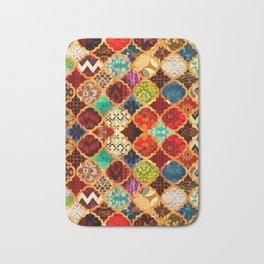 -A32- Epic Colored Traditional Moroccan Artwork. Bath Mat