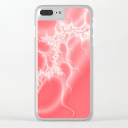 simply Fraktal Clear iPhone Case
