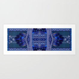 Indigo Fetish Art Print