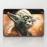 yoda iPad Cases featuring Yoda by calibos