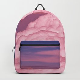 Pink Cotton Candy Clouds Backpack