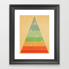 Sequence 02 Framed Art Print