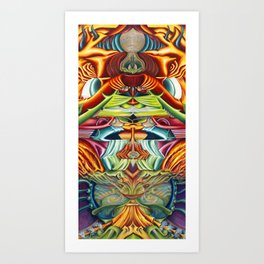 Totemic Art Print