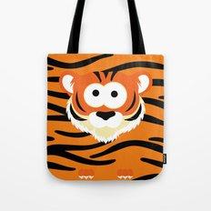 Minimal Tiger Tote Bag