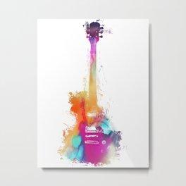 Funky Guitar Metal Print