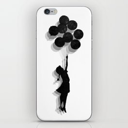 Banksy Fly Away  iPhone Skin