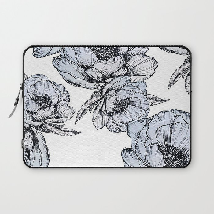 floating flowers Laptop Sleeve