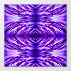 Cyber Monday | Purple Blue Night Canvas Print