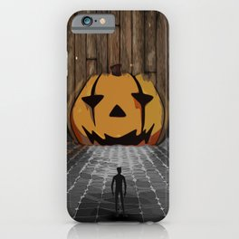 Jack o'lantern limbo iPhone Case