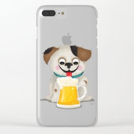 I love beer Clear iPhone Case