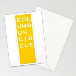 Columbus Circle - NYC - Yellow Stationery Cards