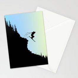 Ski Colors Stationery Cards