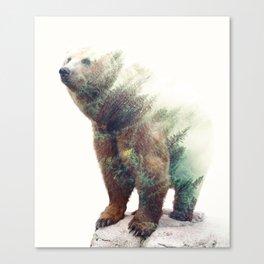 One With Nature V2 #society6 #buyart #decor Canvas Print