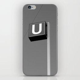 U. iPhone Skin