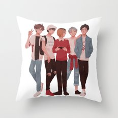 Pretty Setter Squad Throw Pillow