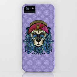 King and Lionheart iPhone Case