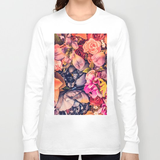 Beautiful Flowers Long Sleeve T-shirt