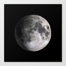 The Full Moon Super Detailed Print Canvas Print