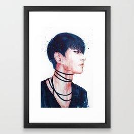 9ine Framed Art Print