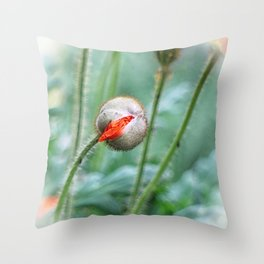 I am bursting!! Throw Pillow