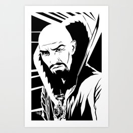 Merciless Art Print