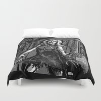 House of Zombies Duvet Cover
